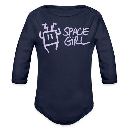 Space Girl - Body Bébé bio manches longues
