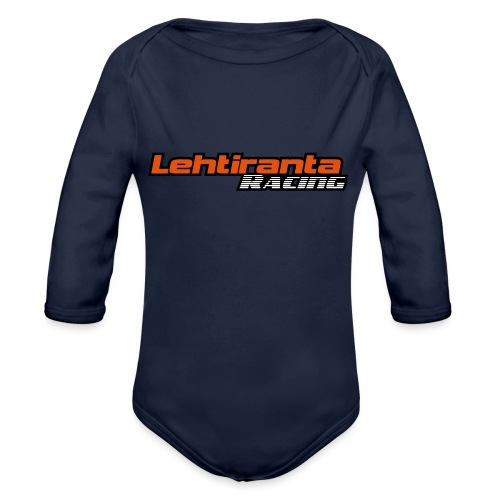 Lehtiranta racing - Vauvan pitkähihainen luomu-body