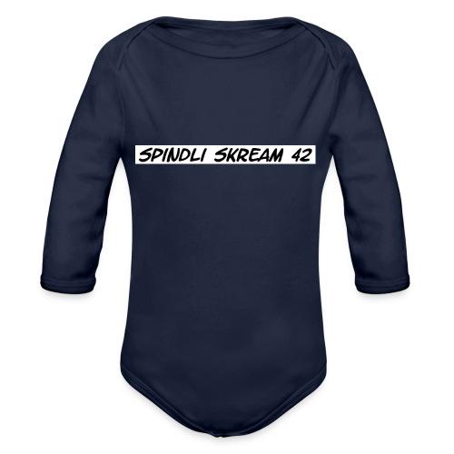 Spindli Skream's Shop - Baby Bio-Langarm-Body