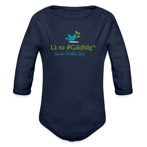 Là na #Gàidhlig - Organic Longsleeve Baby Bodysuit