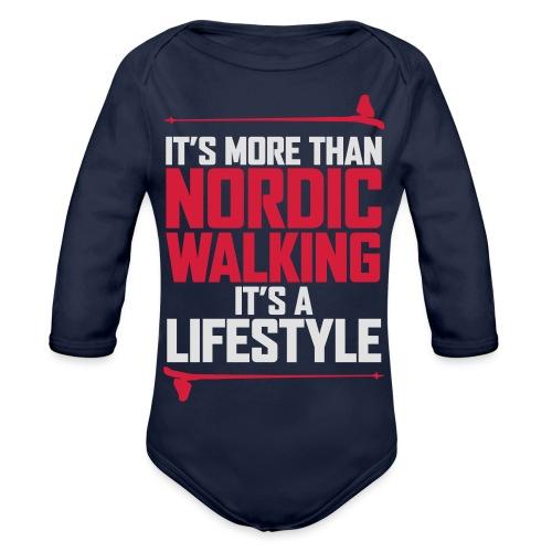 It's more than Nordic Walking - Vauvan pitkähihainen luomu-body
