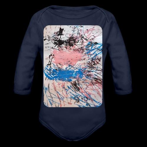Emelie Kunstwerk V. - Baby Bio-Langarm-Body