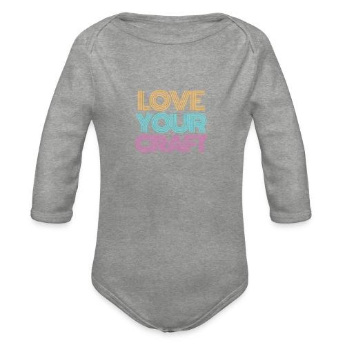 Love your craft - Body ecologico per neonato a manica lunga