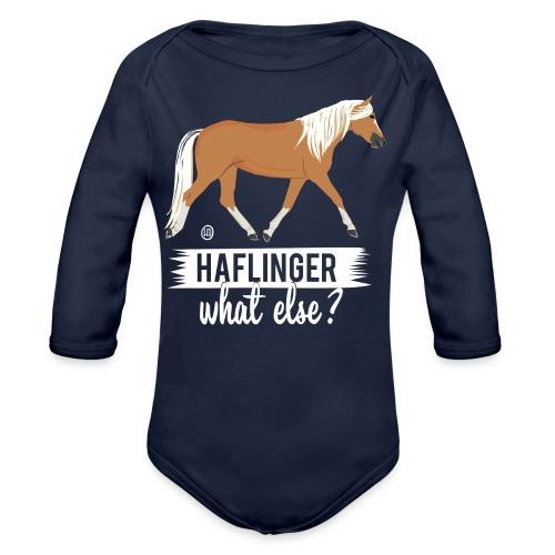 Haflinger- what else MP - Baby Bio-Langarm-Body