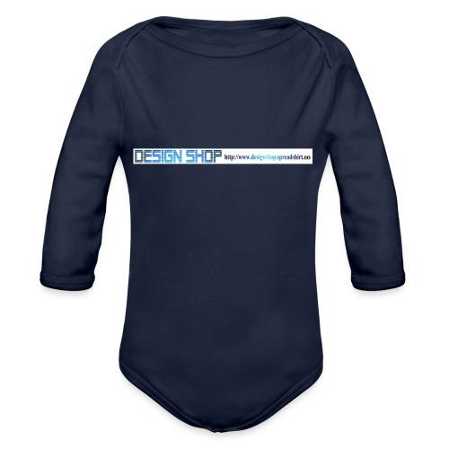 ny logo lang - Økologisk langermet baby-body