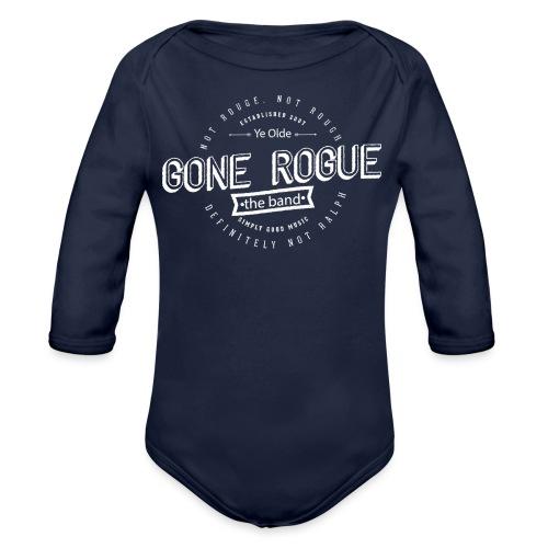 Rogue vintage2 png - Økologisk langermet baby-body