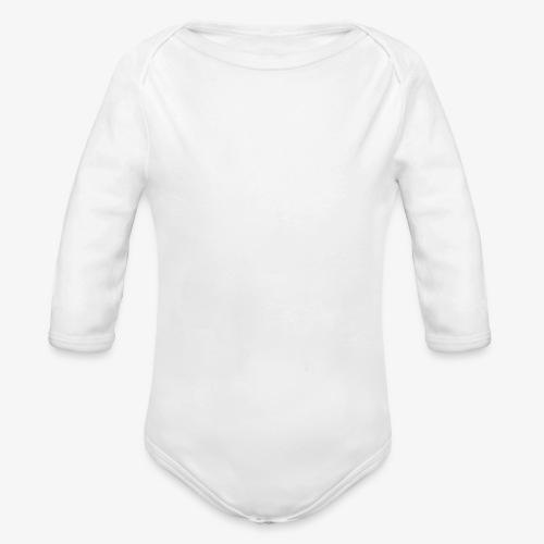 karjalan kovin pysty - Vauvan pitkähihainen luomu-body