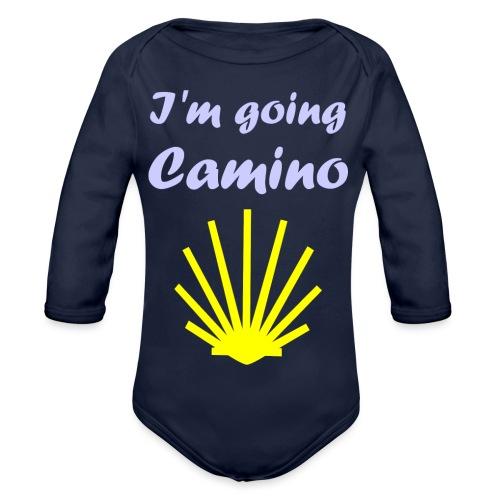 Going Camino - Langærmet babybody, økologisk bomuld