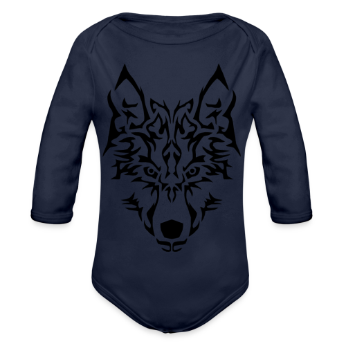 Tribal Wolf - Body Bébé bio manches longues