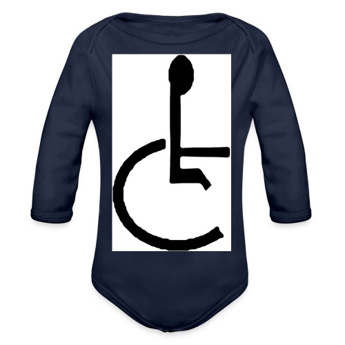 Don't have to get Drunk to Get Legless - Organic Longsleeve Baby Bodysuit