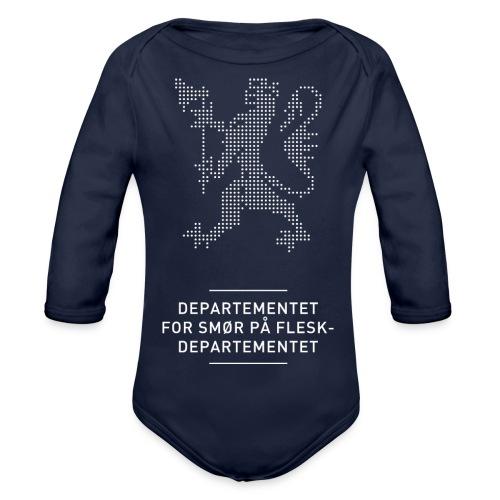 Departementsdepartementet (fra Det norske plagg) - Økologisk langermet baby-body