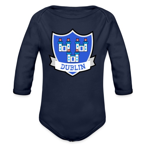 Dublin - Eire Apparel - Organic Longsleeve Baby Bodysuit