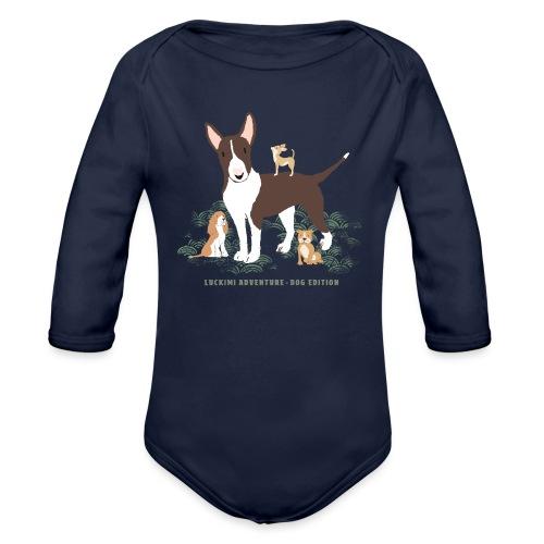 Dog edition Children - Organic Longsleeve Baby Bodysuit