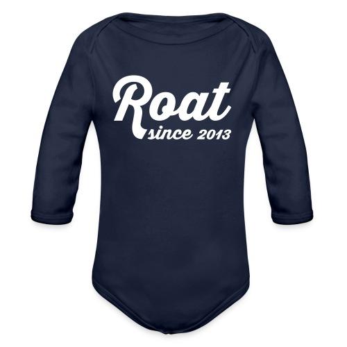 Roat since2013 - Langærmet babybody, økologisk bomuld