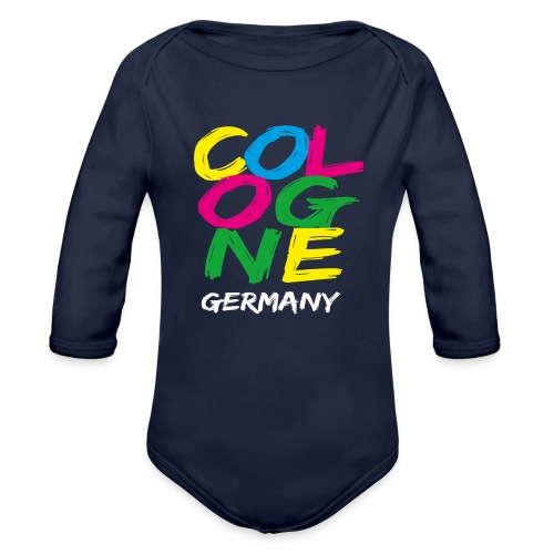 Colorful Cologne - Baby Bio-Langarm-Body
