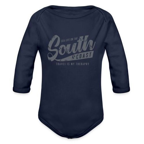 South Coast Sea surf clothes and gifts GP1305B - Vauvan pitkähihainen luomu-body