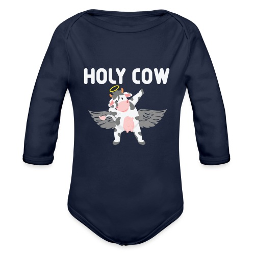 Holy Cow - Ekologisk långärmad babybody