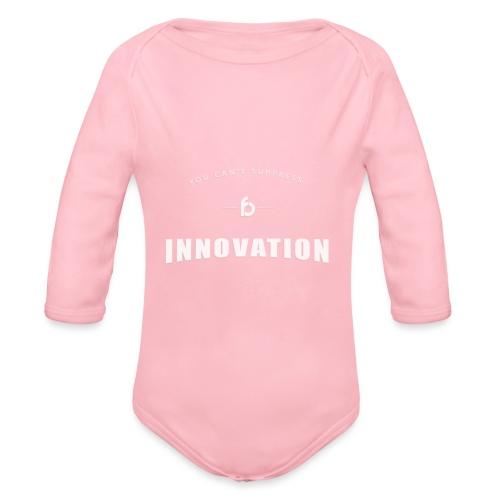 You can't suppress Innovation - Body ecologico per neonato a manica lunga
