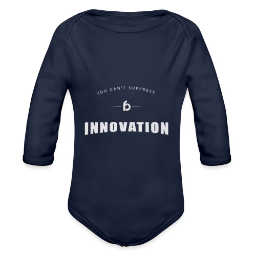 You can't suppress Innovation - Body ecologico per neonato a manica lunga