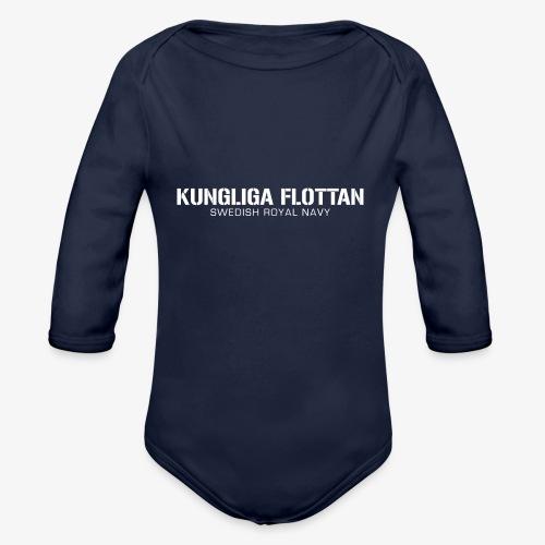 Kungliga Flottan - Swedish Royal Navy - Ekologisk långärmad babybody