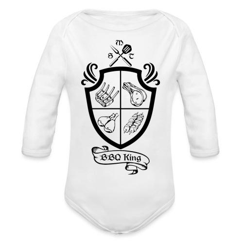 BBQ King - Body ecologico per neonato a manica lunga
