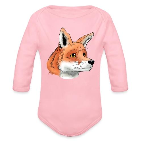 Fuchs - Baby Bio-Langarm-Body