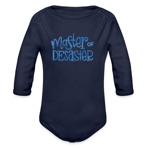 master of desaster - Baby Bio-Langarm-Body