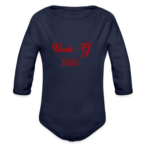 Uncle G - Baby Bio-Langarm-Body