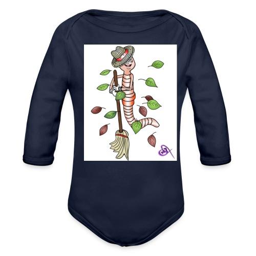 t shirt1 png - Ekologisk långärmad babybody