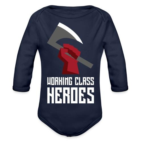 WORKING CLASS HEROES - Organic Longsleeve Baby Bodysuit
