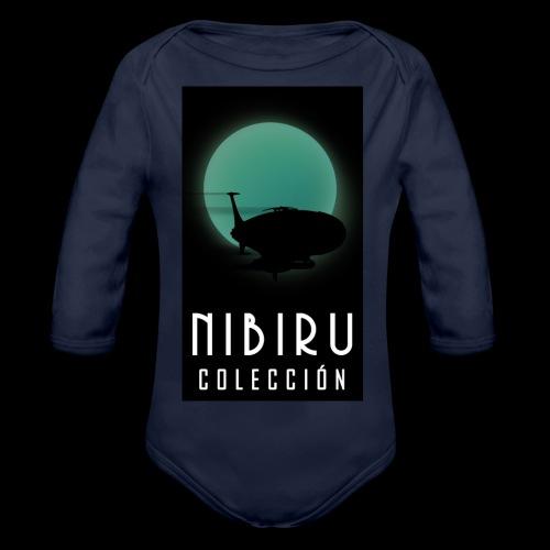 colección Nibiru - Body orgánico de manga larga para bebé