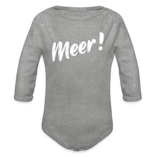 Meer - Baby Bio-Langarm-Body