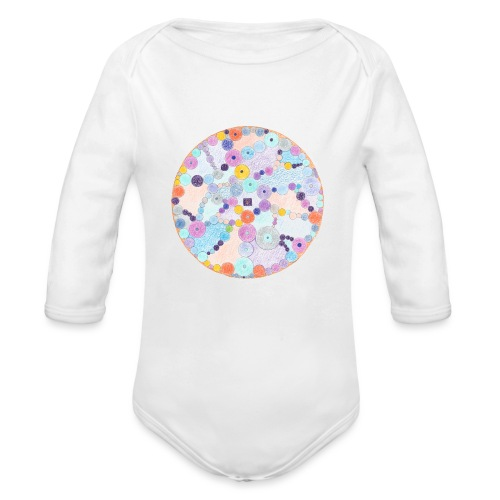 Creativity Relaxing originale JPG png - Body ecologico per neonato a manica lunga