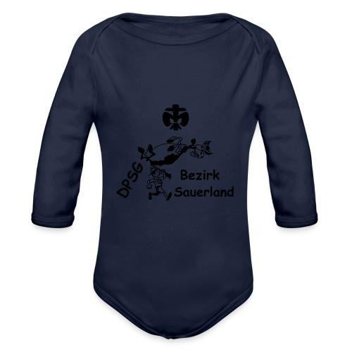 Logo Bezirk Sauerland Ohne Rahmen - Baby Bio-Langarm-Body