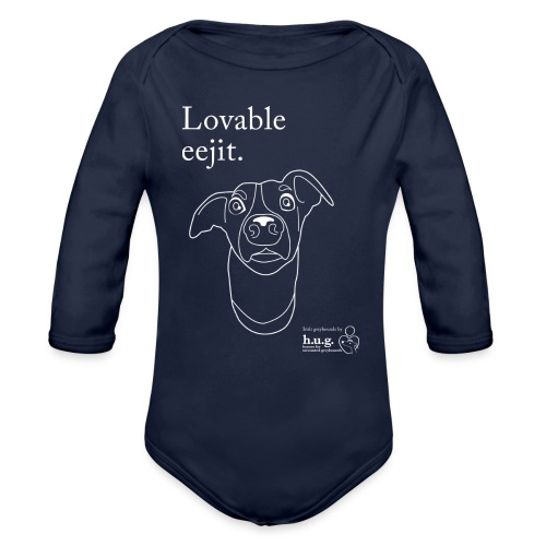 Lovable eejit - Organic Longsleeve Baby Bodysuit