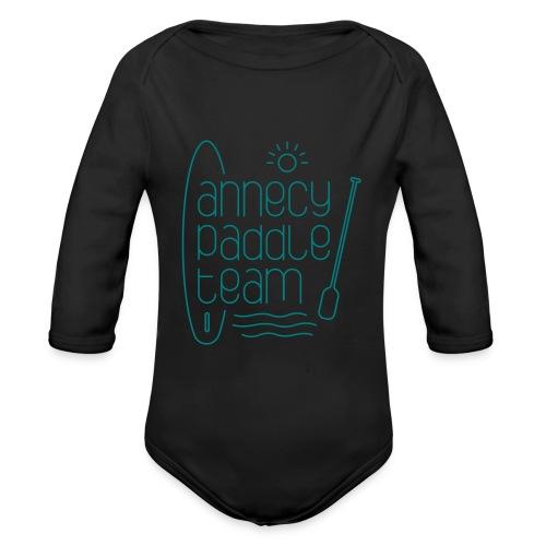 Annecy sup paddle team - Body Bébé bio manches longues
