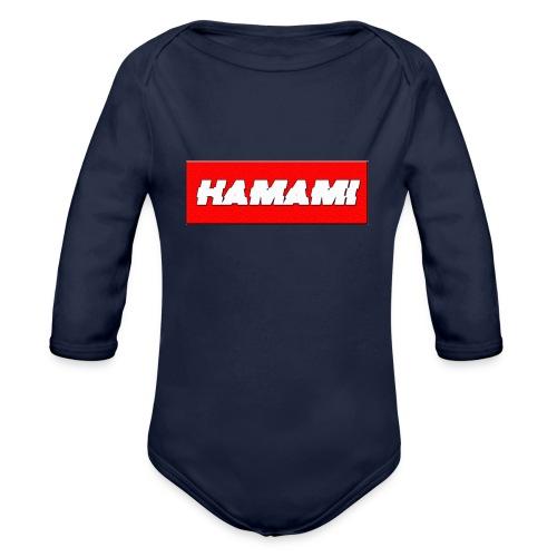 HAMAMI - Body ecologico per neonato a manica lunga