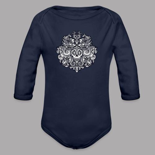 xibalba black - Organic Longsleeve Baby Bodysuit