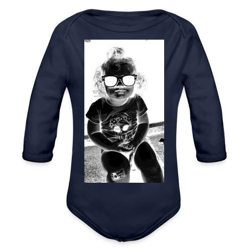 D3 - Organic Longsleeve Baby Bodysuit