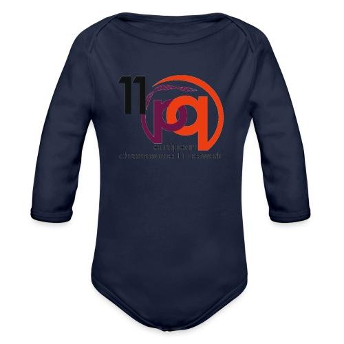 11q_logo_century - Baby Bio-Langarm-Body