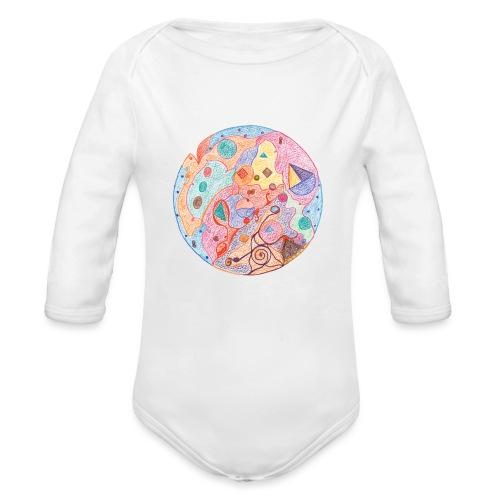Creativity Healing originale JPG png - Body ecologico per neonato a manica lunga