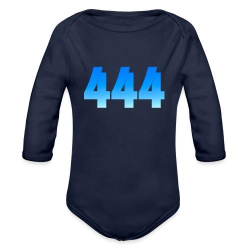 444 annonce que des Anges vous entourent. - Body Bébé bio manches longues