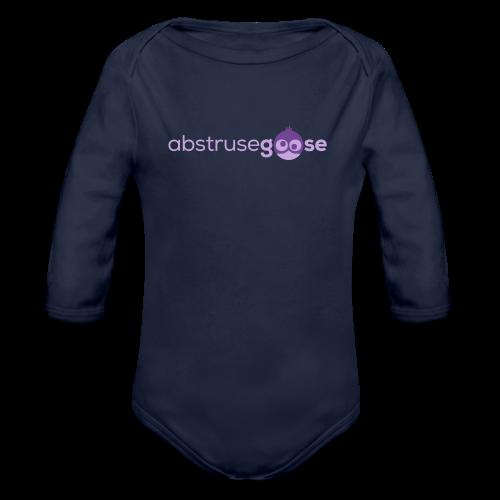 abstrusegoose #01 - Baby Bio-Langarm-Body