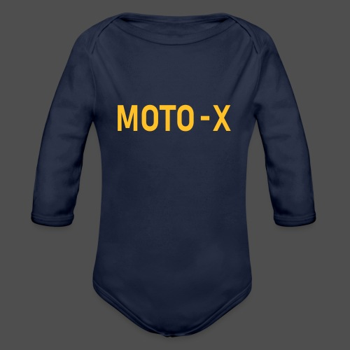 moto x - Organic Longsleeve Baby Bodysuit