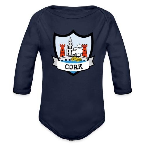 Cork - Eire Apparel - Organic Longsleeve Baby Bodysuit
