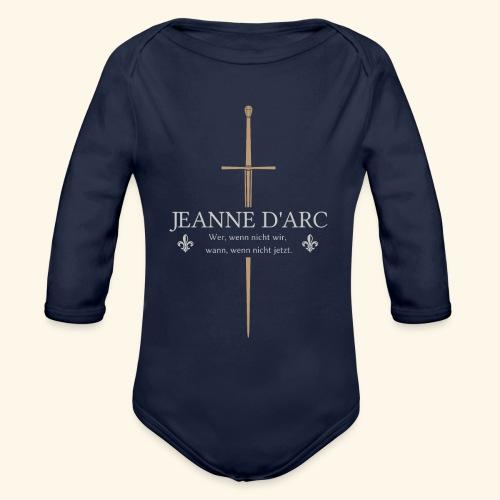 Jeanne d arc - Baby Bio-Langarm-Body