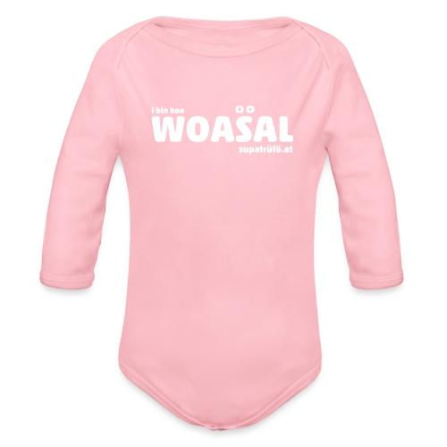 supatrüfö WOASAL - Baby Bio-Langarm-Body