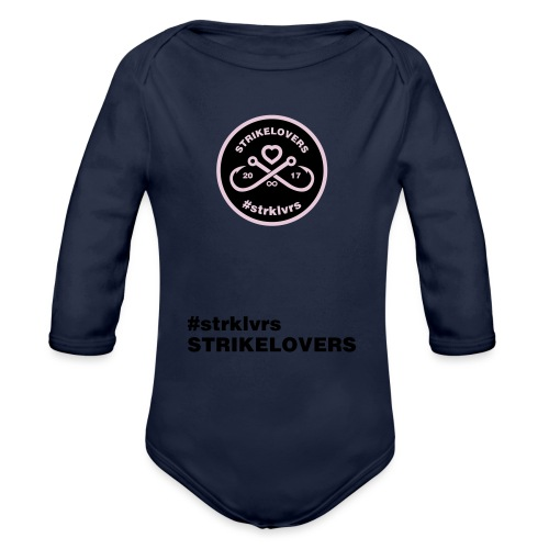 StrikeLovers Circle Vector - Baby Bio-Langarm-Body