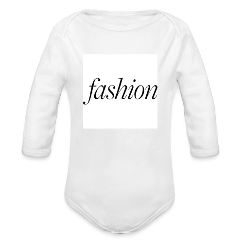 fashion - Baby bio-rompertje met lange mouwen