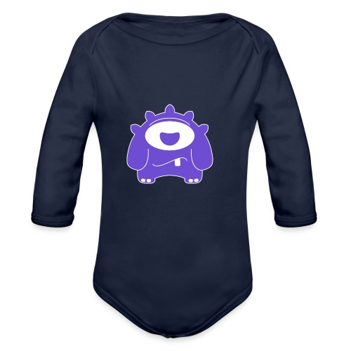 Main character design from the smashET game - Organic Longsleeve Baby Bodysuit